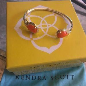 NEW KENDRA SCOTT gold cuff bracelet